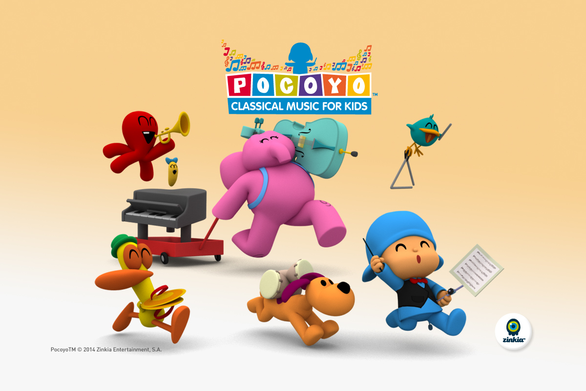 Pocoyo Classical Music- screenshot
