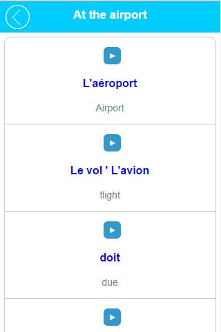 Learn French Speak French - screenshot
