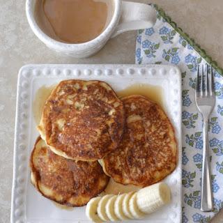 Banana Buttermilk Pancakes.