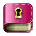 Diary with lock password icon