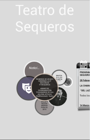 Teatro de Sequeros- screenshot