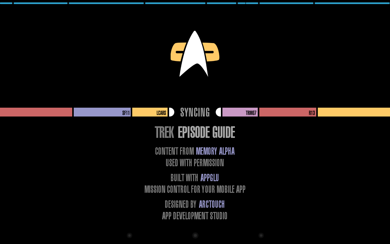 Trek Episode Guide - screenshot