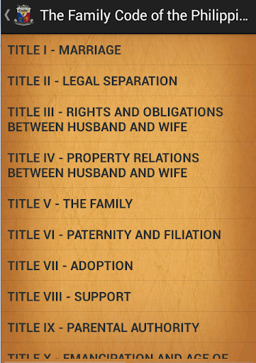 Family Code of the Philippines