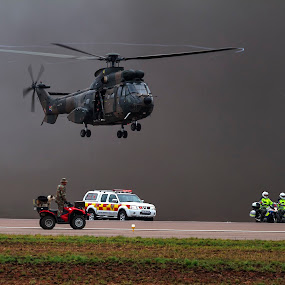 by Andre Oelofse - Transportation Helicopters (  )