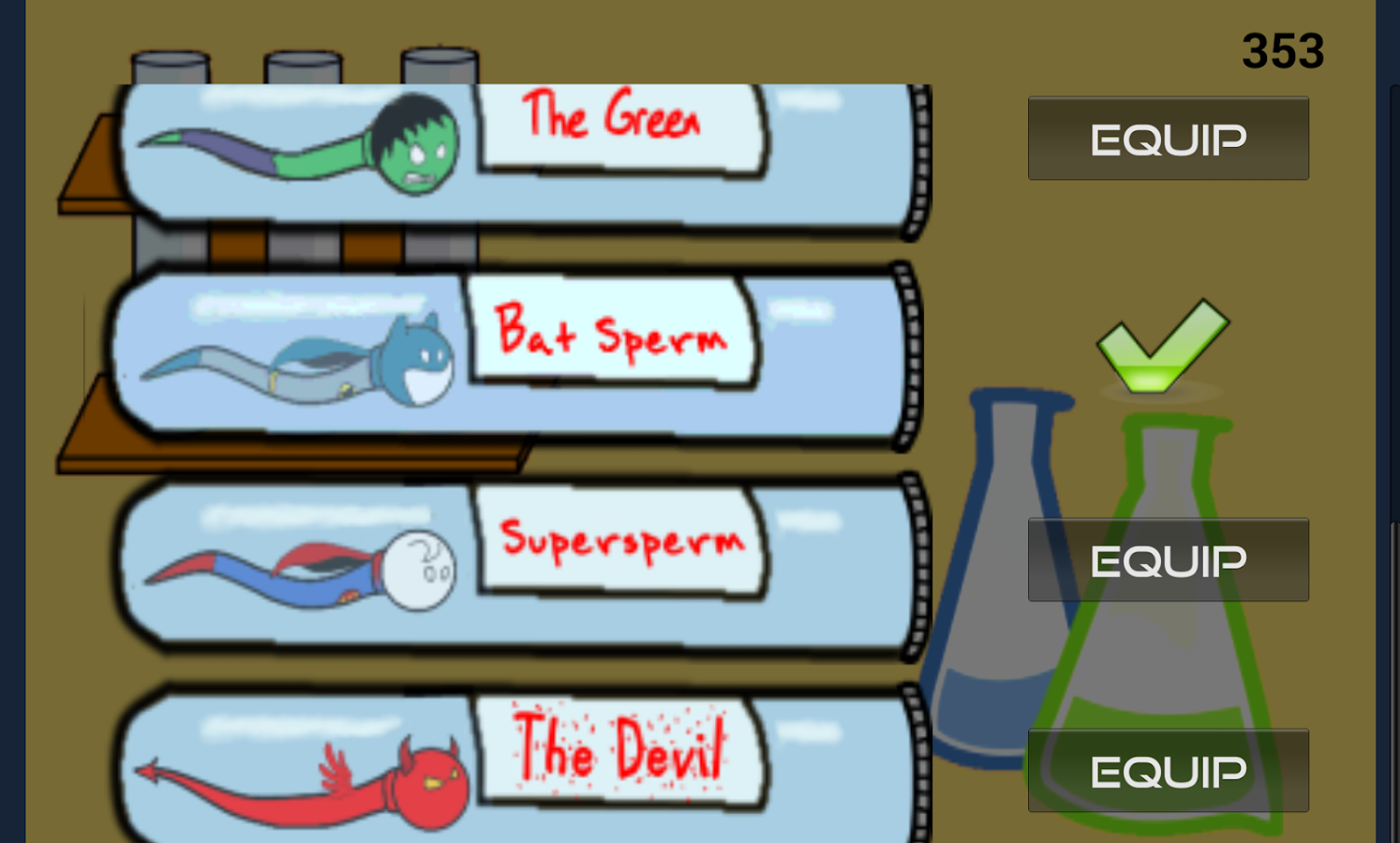 Sperm Heros- screenshot