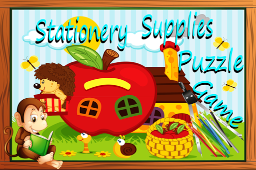 Stationery Supplies Puzzle