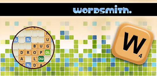 Wordsmith is an addictive 2-4 player word game.  Play with friends now.