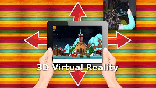 Christmas 3D Virtual Reality