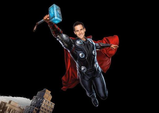 超級英雄貼紙相機|玩攝影App免費|玩APPs