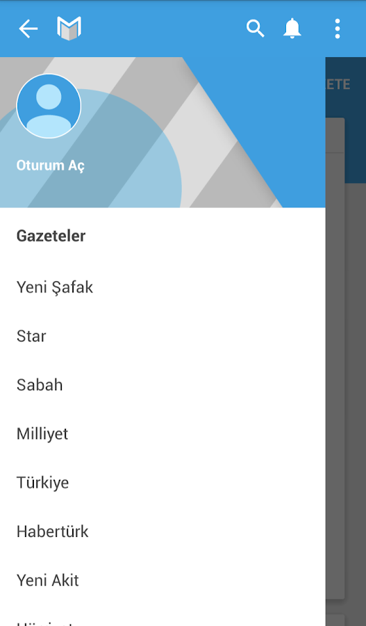 Gazete Manşet- screenshot