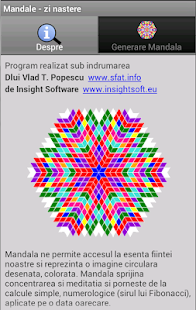 Mandala - zi nastere screenshot