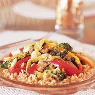 Tangy Stir-Fried Vegetables.