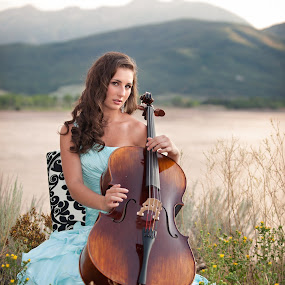 by Melissa Papaj - People Musicians & Entertainers ( music, teen, female, woman, cello, object, musical, instrument )