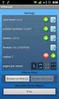 Screenshot of VPPdroid
