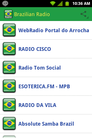 Brazilian Radio Brazil Music