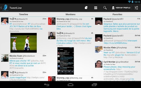 TweetLine for Free (Twitter) - screenshot thumbnail