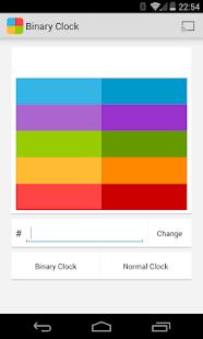 Binary Clock for Chromecast