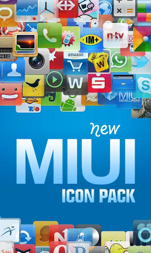 LP New MIUI Icon Pack DONATE v3.5