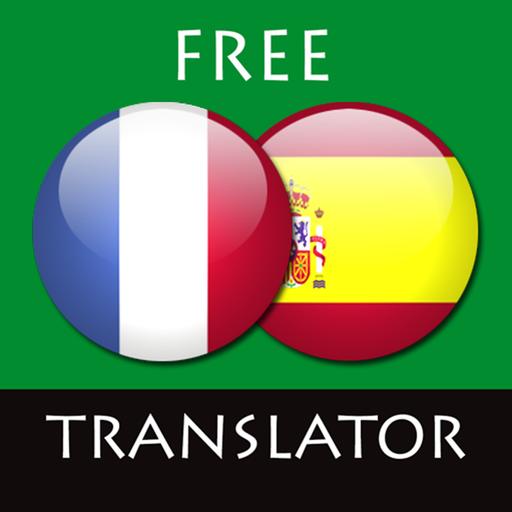 French - Spanish Translator Icon