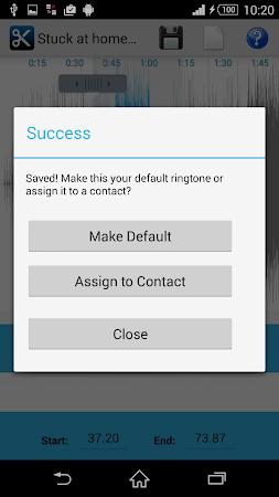 MP3 Cutter Ringtone Maker Free 5 screenshot 44665