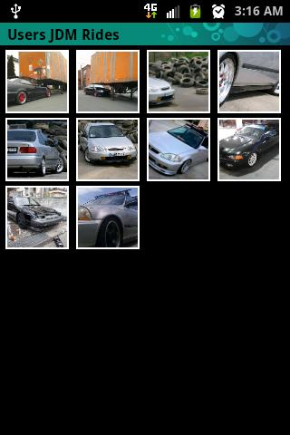JDM CAR GALLERY + submit - screenshot