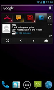 BlingBoard: Social Widget Screenshot 6