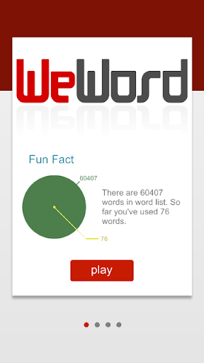 WeWord is a word puzzle