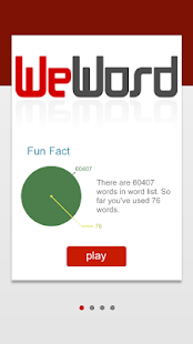 WeWord is a word puzzle!- screenshot thumbnail
