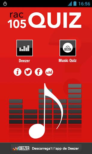 Radio Rac105 Quiz