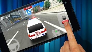 Screenshot of Emergency Ambulance Driving 3D
