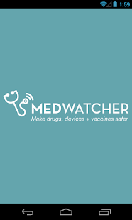 MedWatcher drug/device/vaccine - screenshot thumbnail