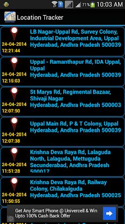 Mobile Location Tracker 3.3.0 screenshot 10159