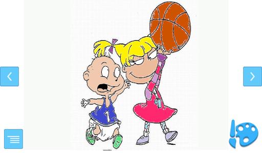 儿童篮球游戏