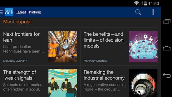 McKinsey Insights - screenshot thumbnail