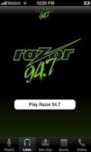 Razor 94.7- screenshot thumbnail