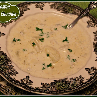 Boston Clam Chowder!