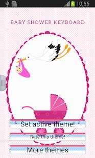 Baby Shower Keyboard - screenshot thumbnail