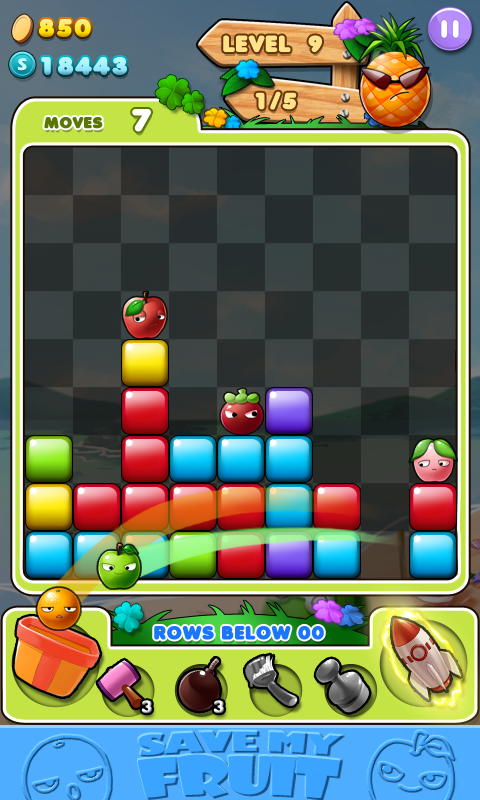 Save Fruits Doll- screenshot