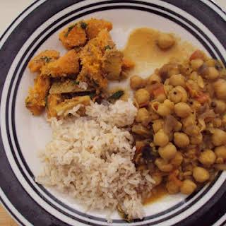Crock-Pot Indian Chickpea.