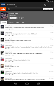 Optimo Radio screenshot 10