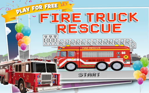 Fire Truck Rescue: Racing Game
