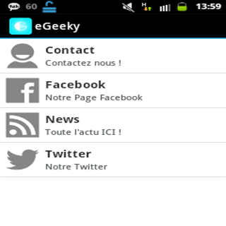 eGeeky for Mobile Tablets