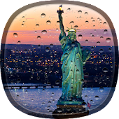 Rainy New York Live Wallpaper
