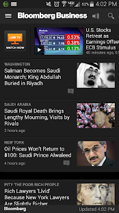 Bloomberg Business - screenshot thumbnail