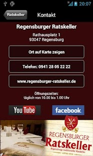 Regensburger Ratskeller- screenshot thumbnail
