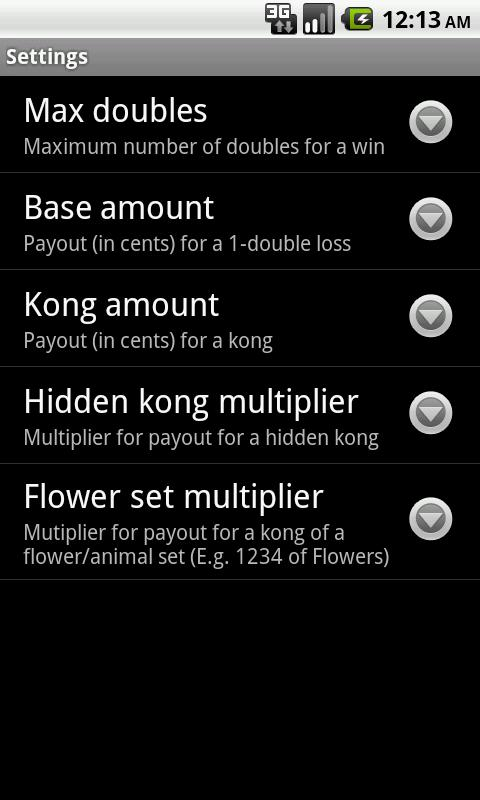 SG Mahjong Scorekeeper- screenshot