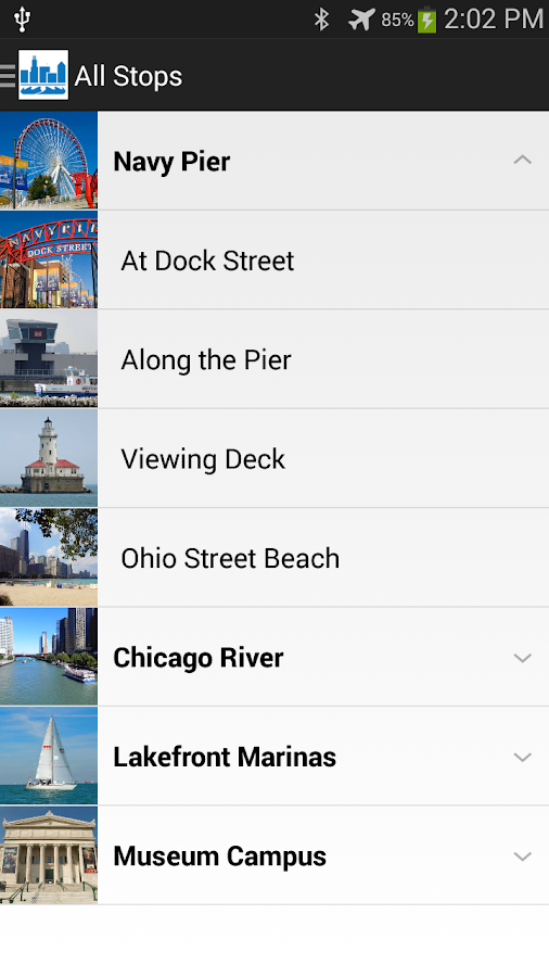 Chicago Water Walk- screenshot