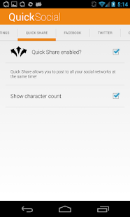 Quick Social (DEMO)- screenshot thumbnail