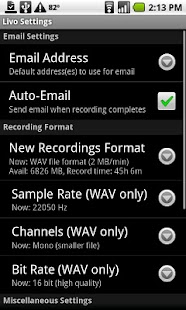 Livo Recorder Pro - screenshot thumbnail