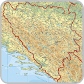 Maps of Bosnia and Herzegovina